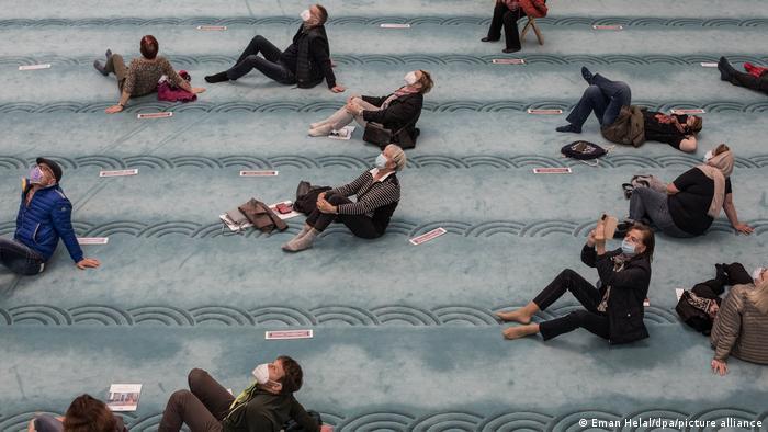 يوم المساجد المفتوحة في ألمانيا 2021 - تراجع عدد الزوار لا يعود فقط إلى كورونا 04_Deustchland Köln Tag der offenen Moschee FOTO PICTURE ALLIANCE