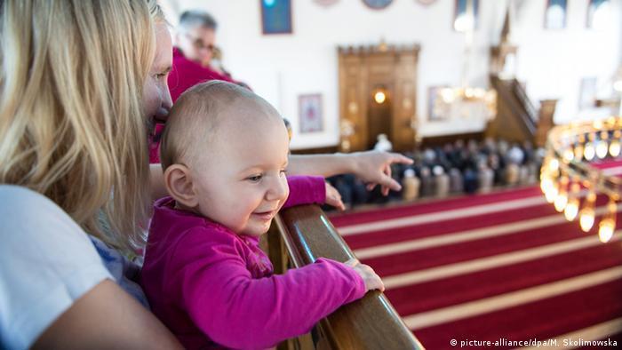 يوم المساجد المفتوحة في ألمانيا 2021 - تراجع عدد الزوار لا يعود فقط إلى كورونا  12_Deutschland Tag der offenen Moschee FOTO PICTURE ALLIANCE