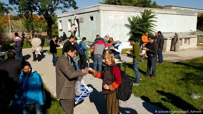 14_Deutschland Tag der offenen Moschee in Dresden FOTO PICTURE ALLIANCE
