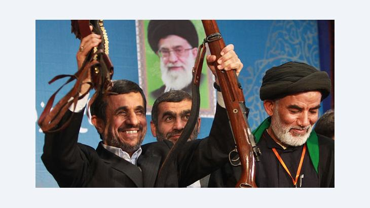 محمود أحمدي نجاد. IRNA