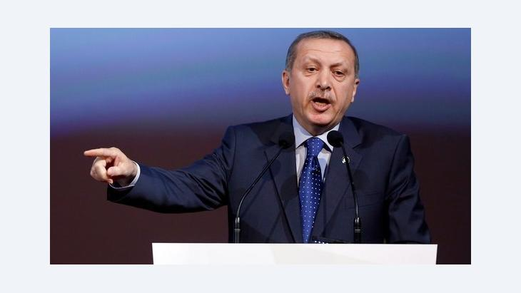 رئيس الوزراء التركي رجب طيب إردوغان. د ب أ