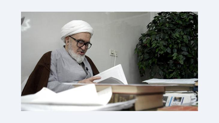 حسين علي منتظري. غيتي إميجيس