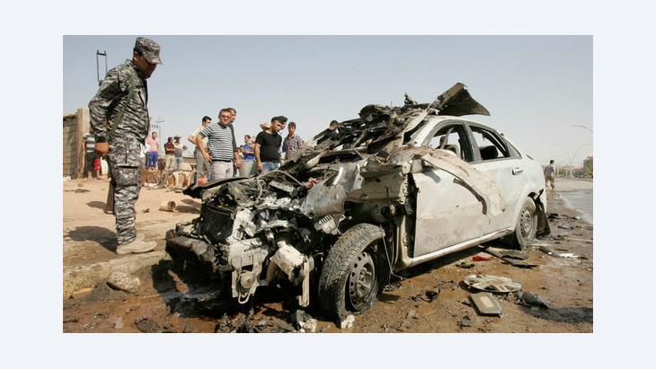 سلسلة الهجمات الإرهابية في العراق في شهر رمضان: الصورة د ب ا
