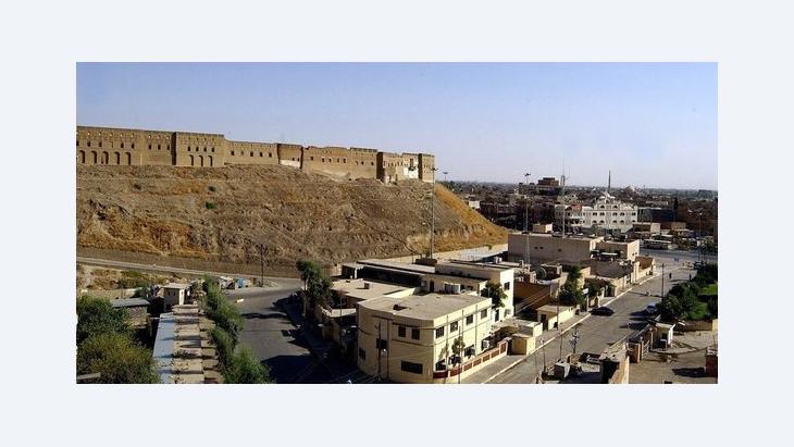 مدينة إربيل في كردستان العراق. د ب أ