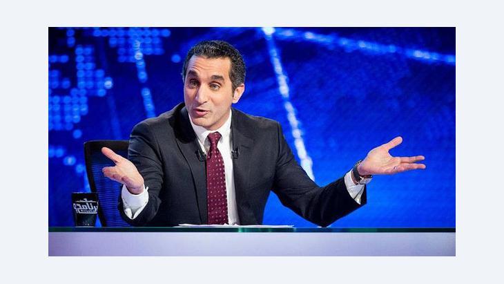 باسم يوسف. المصدر: إحدى صفحات المعجبين