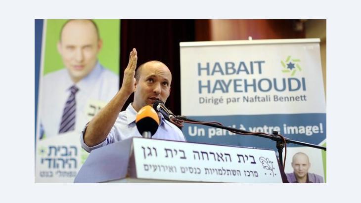 نفتالي بينت: زعيم حزب ''البيت اليهودي'' . إ ب أ