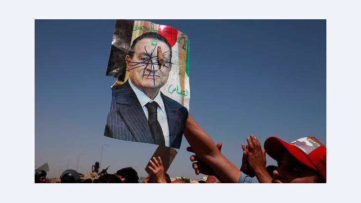 مظاهرات ضد مبارك، يونيو/ حزيران 2012 . رويترز