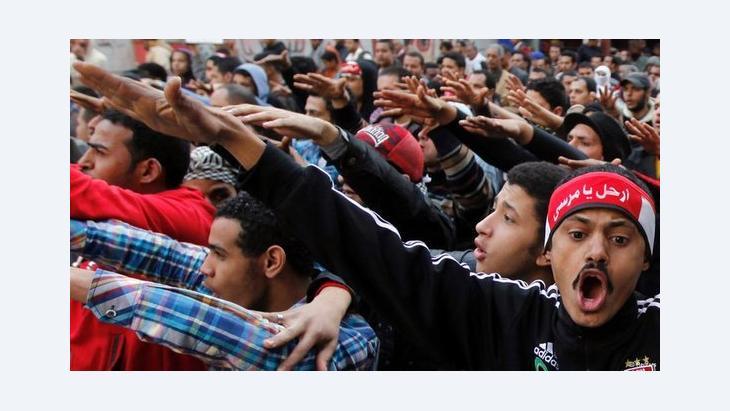 مظاهرات احتجاجية ضد مرسي في القاهرة. رويترز