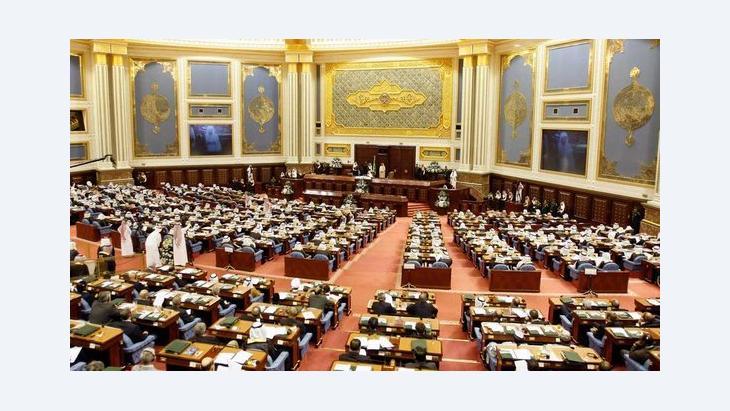 جلسة لمجلس الشورى السعودي. د ب أ