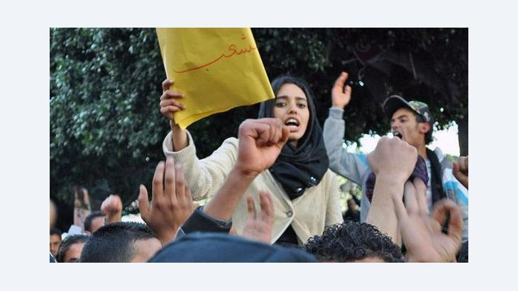 تحولات في واقع المرأة التونسية- نعم للحجاب.. لا للنقاب!، الصورة سارة ميرش
