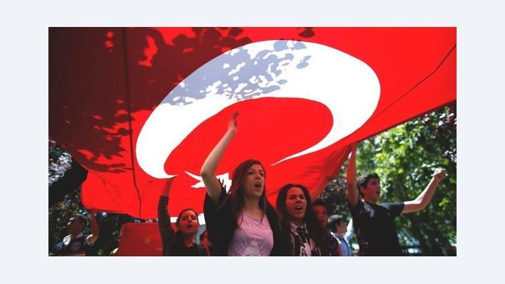 احتجاجات حديقة غيزي في اسطنبول ضد حكومة إردوغان. رويترز