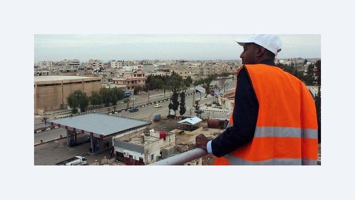 مهمة مراقبي الجامعة العربية في سوريا