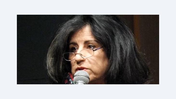الكاتبة المصرية المعروفة أهداف سويف، الصورة كريستوف دراير
