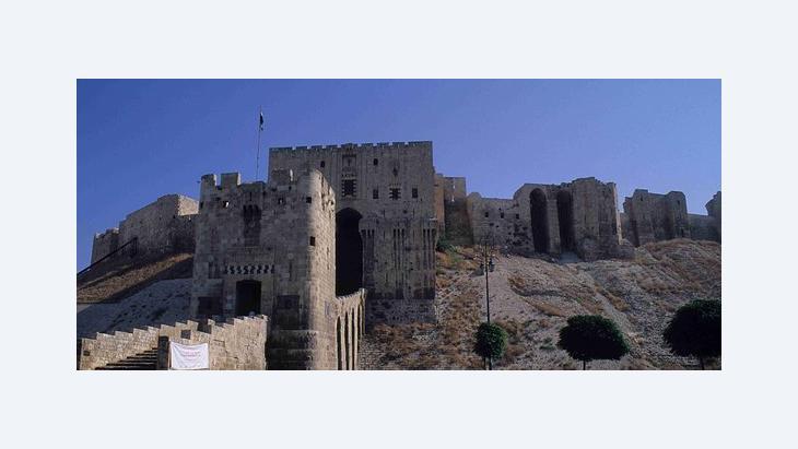 قلعة حلب، الصورة كلاوديا منده