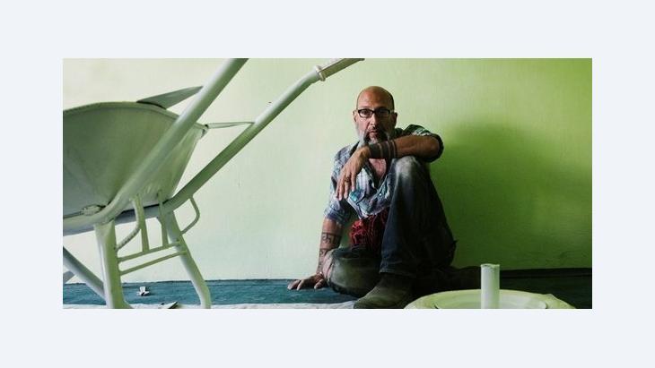 الفنَّان الأفغاني امان مجددى