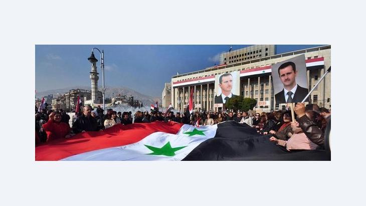 مؤيدو الأسد  الصورة ا ب
