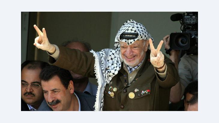 ياسر عرفات، سبتمبر 2003 . د ب أ ، إ ب أ