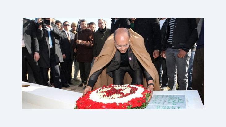 الرئيس التونسي المرزوقي د ب ا