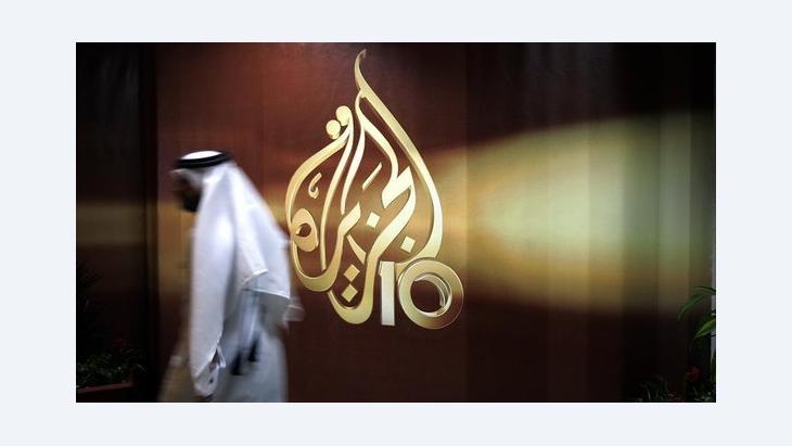 أحد العاملين في قناة الجزيرة، أ ب