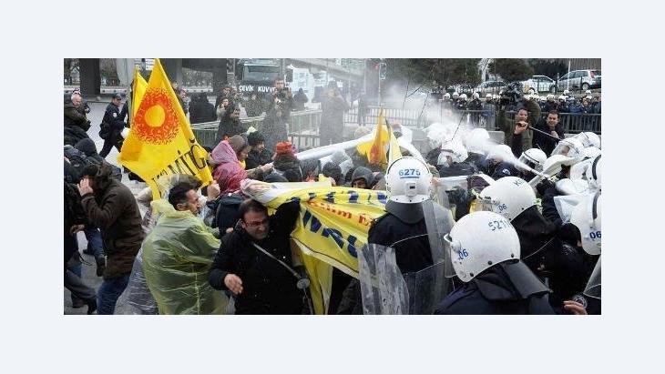 """احتجاجات على """"إصلاحات"""" قطاع التعليم في تركيا الصورة رويتر"""