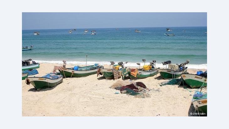 صيد الأسماك في قطاع غزة الصورة بتينا ماركس