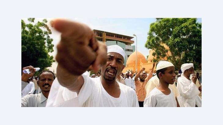 """ما الذي يقع في قلب الاحتجاجات الأخيرة حول فيلم """"براءة المسلمين  foto getty images"""