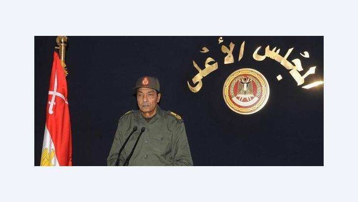 العسكر والمنظمات غير الحكومية في مصر، المشير طنطاوي، الصورة د ا ب د