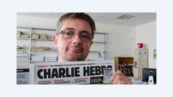 """صحيفة """"تشارلي إبدو"""" الفرنسية: د ب ا"""