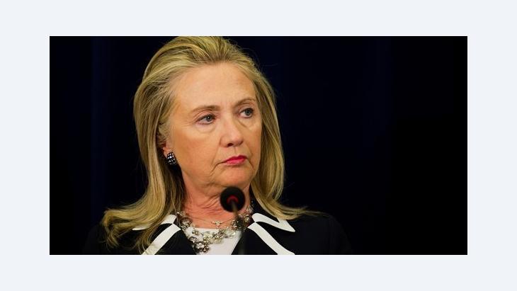 وزيرة الخارجية الأمريكية هيلاري كلنتون د ب ا
