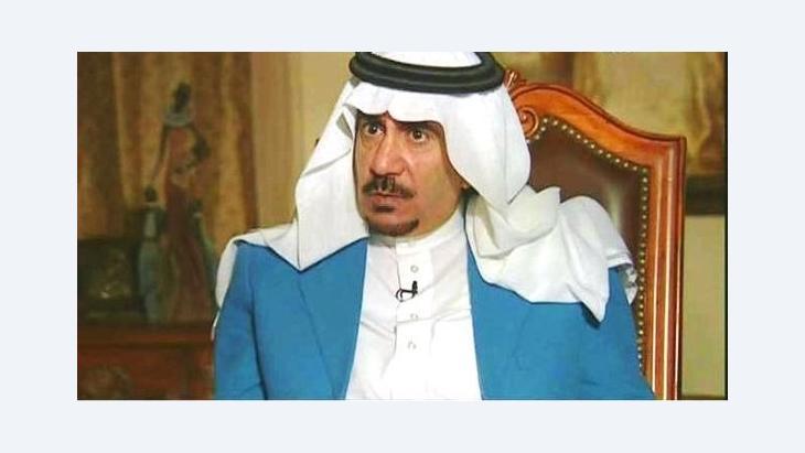 الروائي والمفكر السعودي تركي الحمد. صورة عن موقع العربية نت.