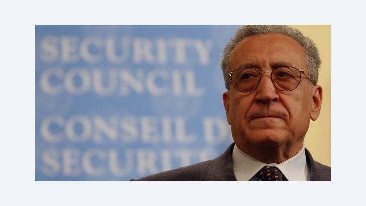 المبعوث الدولي الخاص إلى سوريا الأخضر الإبراهيمي: د ب ا
