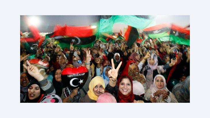 حقوق المرأة في ليبيا بعد الثورة:  الصورة د ب ا