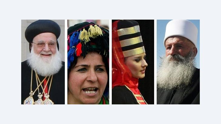 الأقليات في سوريا: ا ب