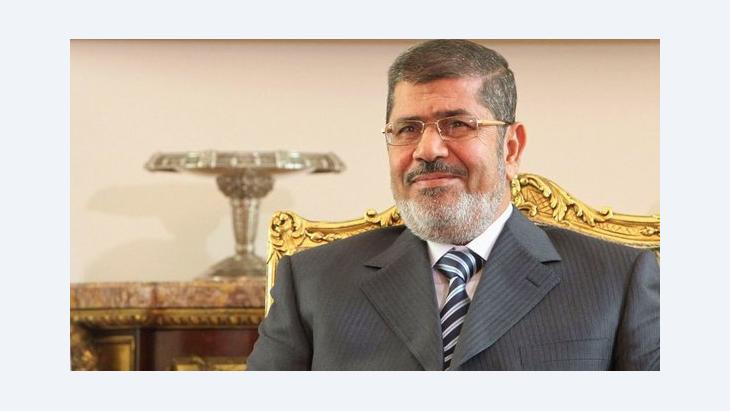 الرئيس المصري محمد مرسي. رويترز