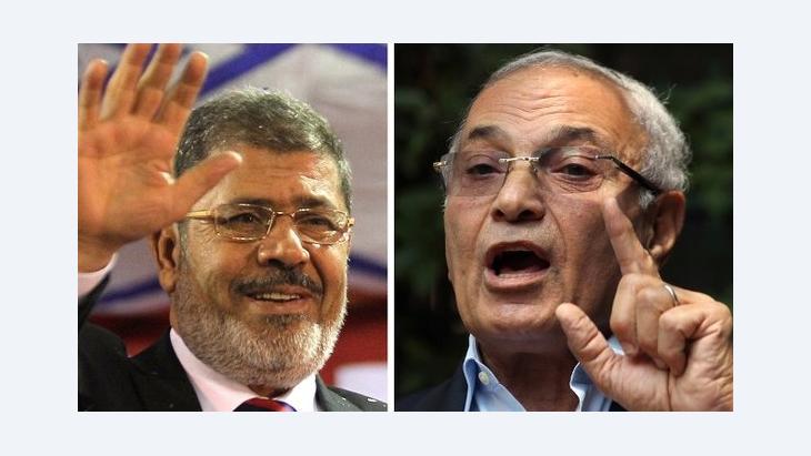 نتيجة الجولة الأولى من انتخابات الرئاسة المصرية  ليس مصادفة مرسي وشفيق