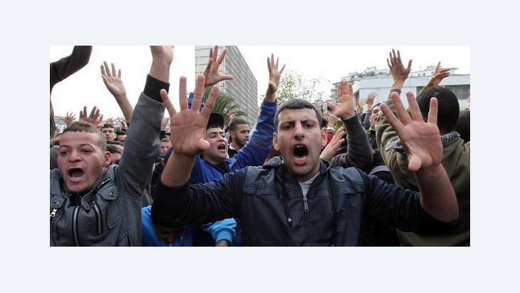 الجزائر والربيع العربي، الصورة د ب ا