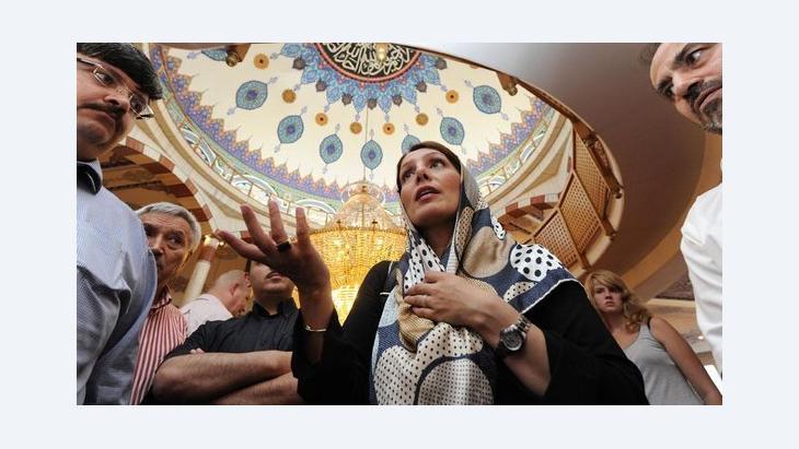 وزيرة الاندماج في ولاية بادن فورتمبيرغ الألمانية بيلكاي أوني، الصورة د ب ا