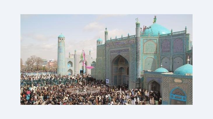 يوميَّات في أفغانستان - الجزء الثاني، مزار الشريف، ماريان بريمر