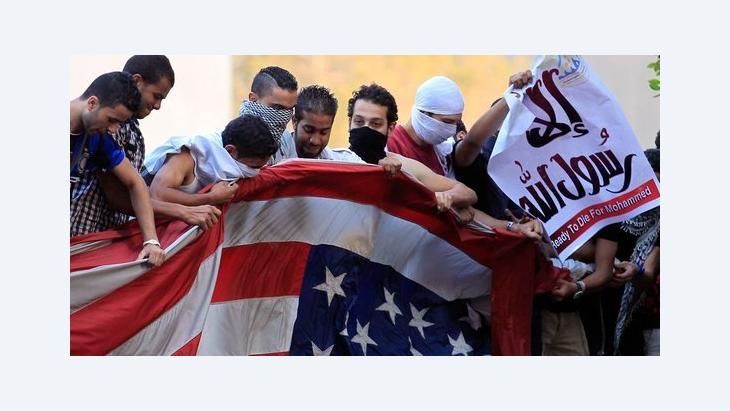 الاحتجاجات على الفيلم المسيء للنبي محمد : رويتر