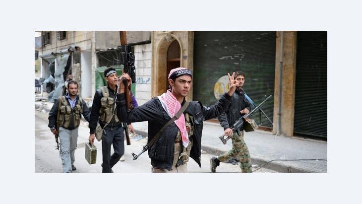 عناصر من المعارضة السورية المسلحة، أ ف ب