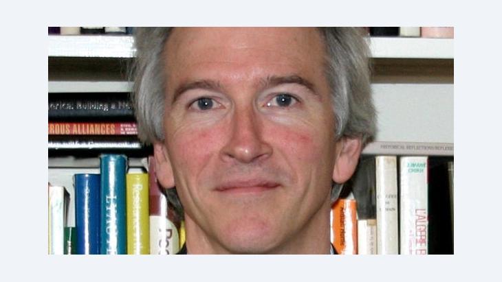 المؤرخ البريطاني المعروف مع يوجين روغان الصورة خاص