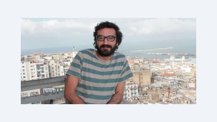 الكاتب والصحفي الجزائري عدلان مدي، الصورة مارلين توما