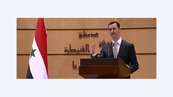نظرية المؤامرة في سوريا ومصر:، الصورة د  ب ا