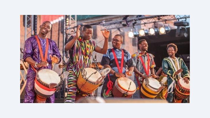 مهرجان كناوة الخامس عشر في الصويرة: الصورة كريم تيباري