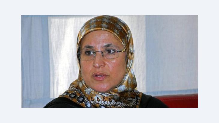 الوزيرة الوحيدة في أول حكومة مغربية في ظل الربيع العربي، الناشطة الإسلامية بسيمة الحقاوي