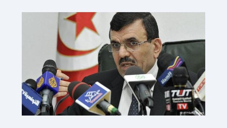 رئيس الحكومة التونسية المؤقتة علي العريض. أ ف ب