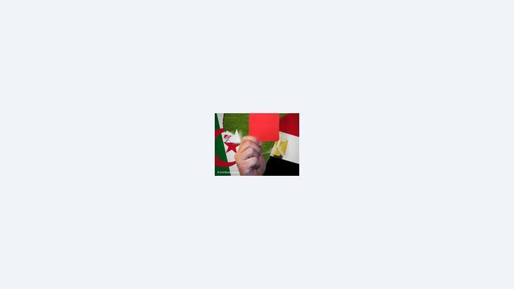 الأزمة بيم مصر والجزائر، صورة رمزية، الصورة دويتشه فيله