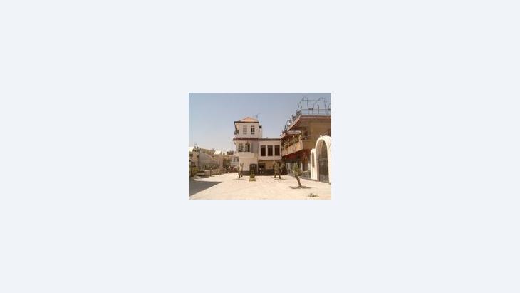 كنيسة الزيتون في دمشق، الصورة: عفراء محمد