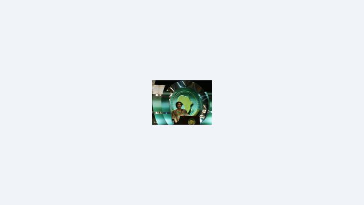 القذافي، الصورة: ا.ب