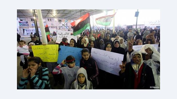 مستقبل ليبيا الجديدة بين شيخ القبيلة وشيخ الطريقة!، الصورة من موقع دويتشه فيله